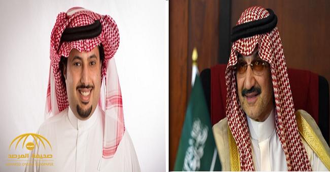 """أول تعليق من الوليد بن طلال على مطالب رحيل """" آل الشيخ"""" من هيئة الرياضة"""