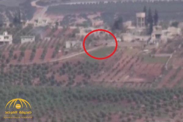 شاهد.. لحظة تدمير دبابة تركية في عفرين ومقتل طاقمها