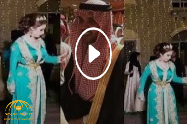 شاهد: كيف احتفل حمود الفايز بزواجه من الإعلامية الإماراتية رؤى الصبان!
