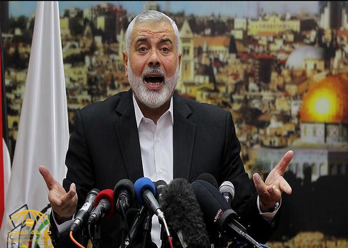 حماس: لهذا السبب وضعت واشنطن هنية على قائمة الإرهابيين