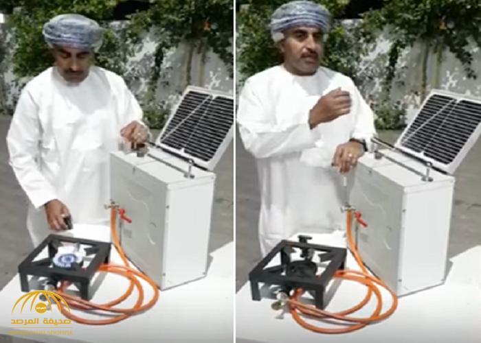"""شاهد: عماني يخترع جهاز ينتج """"غاز الطبخ"""" عن طريق الطاقة الشمسية دون الحاجة للغاز الطبيعي!"""