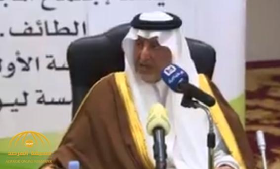 """شاهد .. هكذا ردّ """"خالد الفيصل"""" على سؤال صحفي عن شعوره بعد مضي 11 عاماً على توليه إمارة مكة؟"""