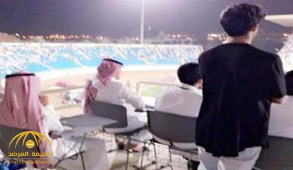 كشف حقيقة الفيديو المتداول للاعبي المنتخب مع أحد الفنانين في ملعب مدينة الملك عبد الله !