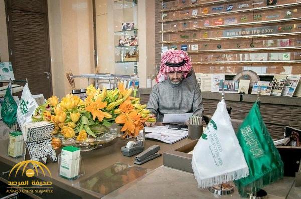 بالصور .. الوليد بن طلال يعود لمباشرة مهامه بالمملكة القابضة