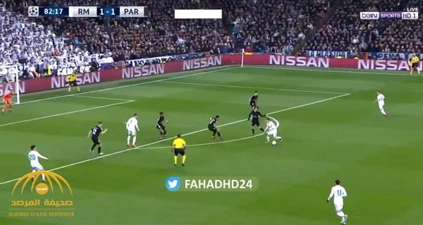 بثلاثة أهداف .. شاهد : ريال مدريد يقلب الطاولة على باريس سان جيرمان في دوري الأبطال