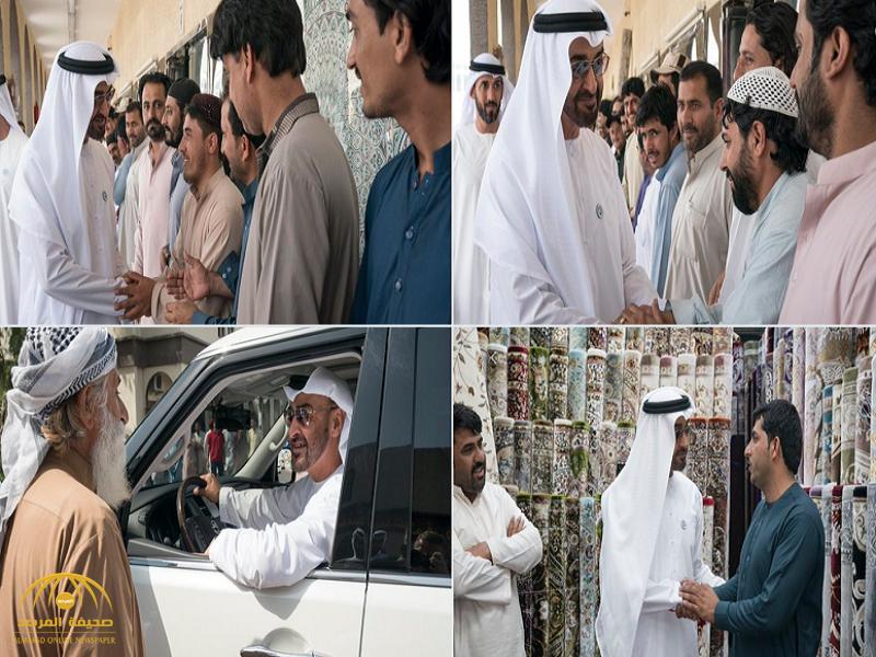 بالفيديو: عامل سجاد أفغاني يجبر ولي عهد أبو ظبي على زيارته في متجره.. بسبب صورة!
