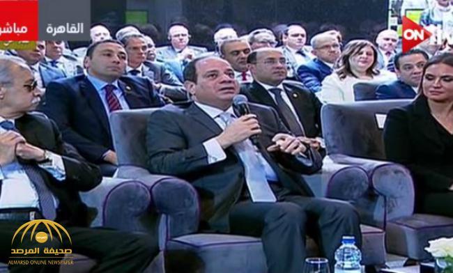 """شاهد .. ماذا قال السيسي في أول تعليق له على استيراد """"الغاز الطبيعي"""" من إسرائيل"""