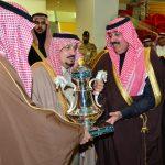نيابة عن خادم الحرمين ..  بالصور : أمير الرياض يرعى الحفل السنوي لسباق الخيل