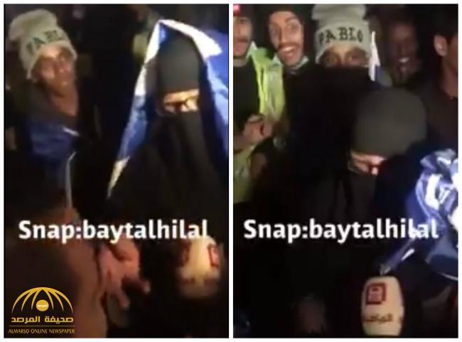 """شاهد .. """"مشجعة هلالية"""" تهاجم """"المريسل وبن زنان والإعلام النصراوي"""" وتصف حالتهم بالصعبة!"""