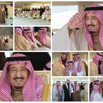 """شاهد بالصور .. تفاصيل رعاية """"خادم الحرمين"""" للحفل الختامي لمهرجان الملك عبد العزيز للإبل"""