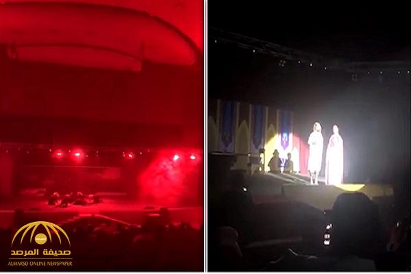 """شاهد لقطات من عرض مسرحية """"حياة الإمبراطور"""" بحضور العوائل في الرياض"""