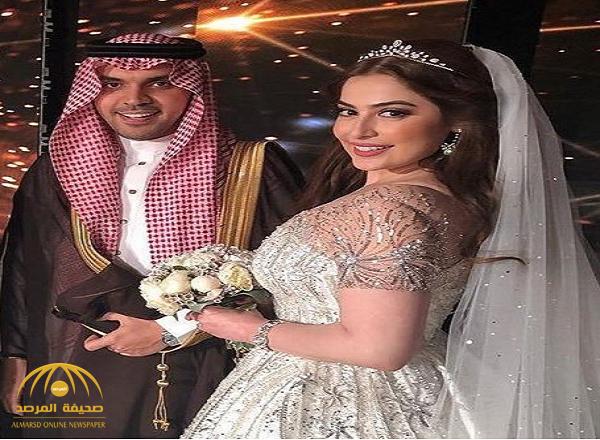 شاهد.. الصور والفيديوهات الأولى من حفل زفاف حمود الفايز ورؤى الصبان بدبي