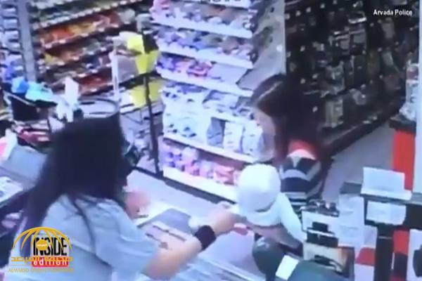 تعرف على حقيقة فيديو السيدة التي توفيت وهي تحمل طفل داخل متجر في أمريكا