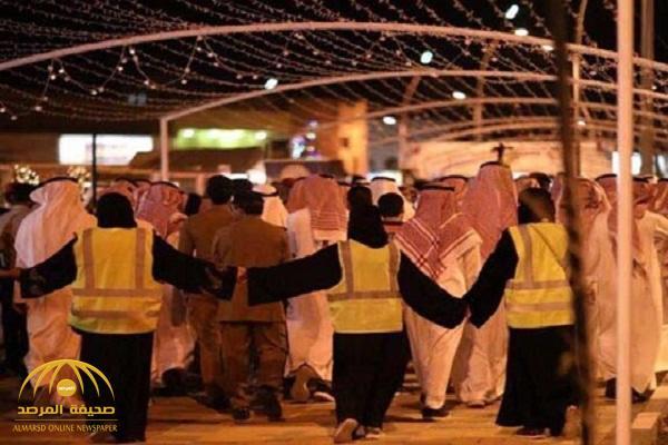 كشف حقيقة الصورة المتداولة لسياج نسائي حول الرجال في مهرجان ربيع عنيزة