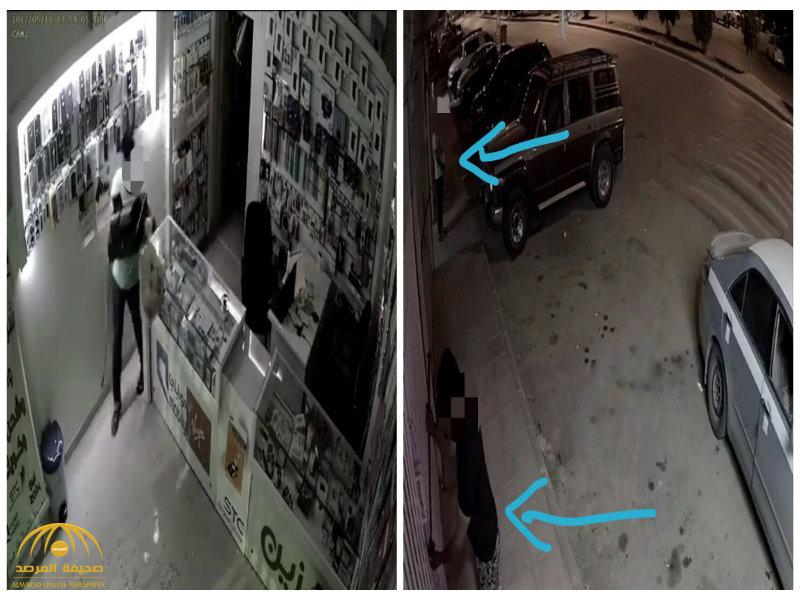 شرطة الرياض تلقي القبض على عصابة لصوص من 14 شخصاً وتكشف عن جنسياتهم – صور