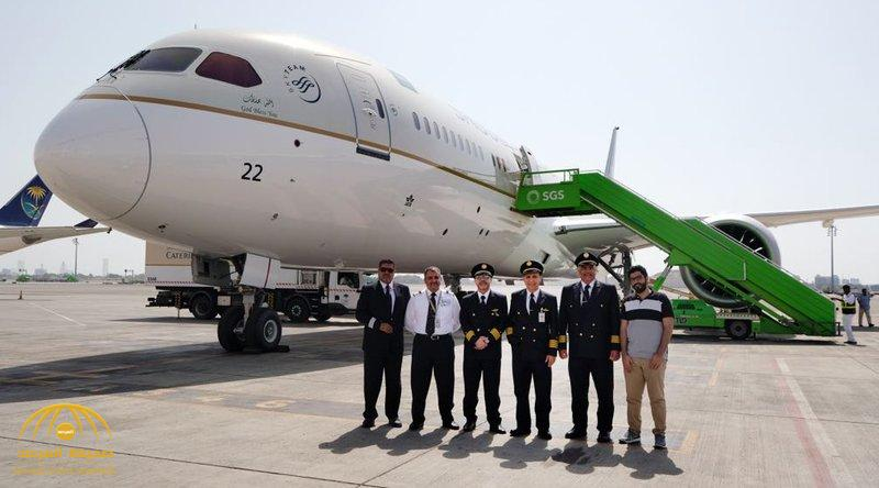 بالصور.. الخطوط السعودية تضم طائرة جديدة من طراز بوينج  دريملاينر.. وهذه أبرز مواصفاتها!
