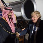 بالصور: ولي العهد يصل إلى العاصمة البريطانية