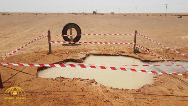 كشف سر المياه البركانية الساخنة في الرياض-فيديو