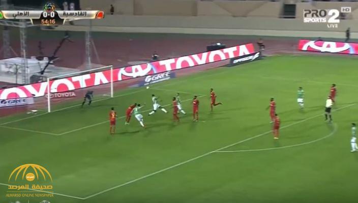 بالفيديو : الأهلي يفوز على القادسية بهدف وحيد .. شاهد أبرز أحداث المباراة بين الفريقين