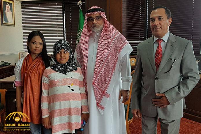 """السفير """"الشعيبي"""" يفجر مفاجأة حول والد الطفلة هيفاء """"سلطان الحربي"""""""