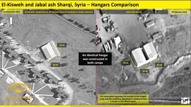 تعدت مرحلة الميليشيات.. شاهد بالصور: بناء إيران قاعدة عسكرية جديدة قرب دمشق