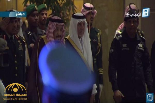 شاهد: خادم الحرمين يرعى حفل جائزة الملك فيصل العالمية بالرياض