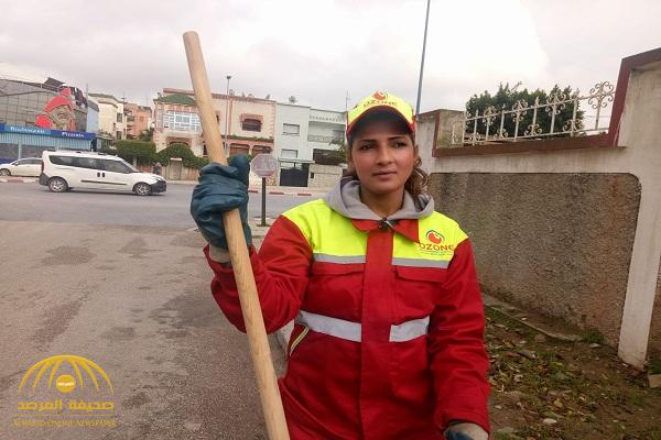 """شاهد .. """"سناء معطاط""""رحلة العاملة الفاتنة من كنس الشوارع إلى ملكة جمال في المغرب!"""