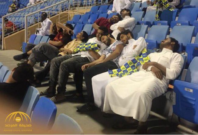 صورة مثيرة لجماهير النصر في لقاء الشباب تشعل مواقع التواصل الإجتماعي