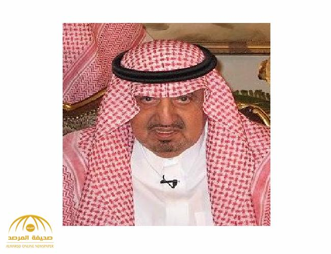 وفاة الأمير بندر بن خالد بن عبدالعزيز
