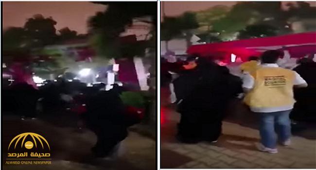 شاهد.. سقوط لوحة وإصابة 12 زائرًا  في مهرجان هيئة الترفيه بالخرج