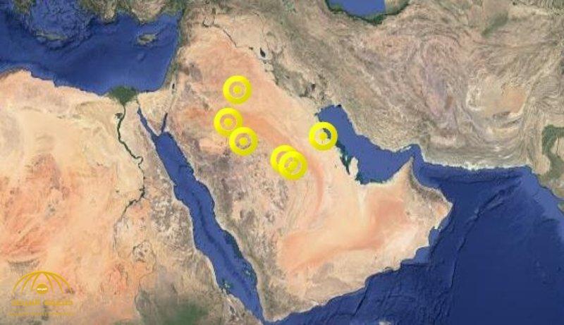"""""""سحب رعدية ورياح نشطة"""".. 4 مناطق تدخل خريطة تنبيهات الإنذار المبكر!"""