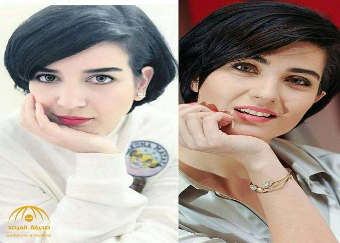 """شاهد.. فتاة سعودية شبيهة الفنانة التركية """" توبا """" تشعل مواقع التواصل"""
