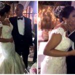 """'بين الرقص والتقبيل"""" .. شاهد بالفيديو والصور .. كيف أشعلت بيبي عبدالمحسن مواقع التواصل في حفل زفافها!"""