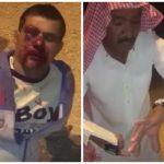 """شاهد .. مواطن يوثق اعتداء على """"مقيم"""" وسلب ما بحوزته في حي السلي بمدينة الرياض"""