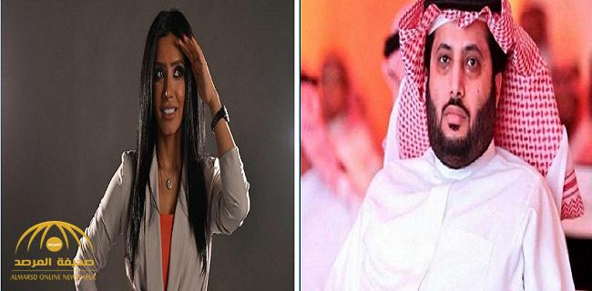 """الفنانة""""مروة سالم"""" تثير جدلا لتواجدها في استوديو مباراة السعودية وأوكرانيا.. وآل الشيخ: غير مقبول.. فاهمين غلط"""