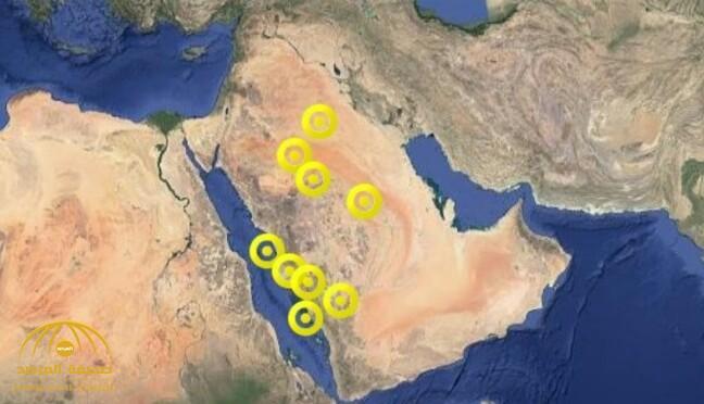 يتواصل بعضها لمساء غد الجمعة.. الإنذار المبكر:حالات مناخية متفاوتة ما بين أمطار وغبار على 7 مناطق!