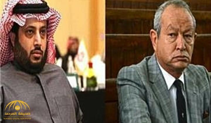"""نقاش ساخن بين تركي آل الشيخ والمصري نجيب ساويرس على """"تويتر"""".. والأخير يحذف التغريدة"""