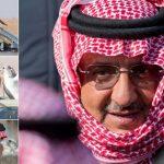"""شاهد.. صور جديدة  للأمير """"محمد بن نايف"""" أثناء رحلة قنص بالصقور"""