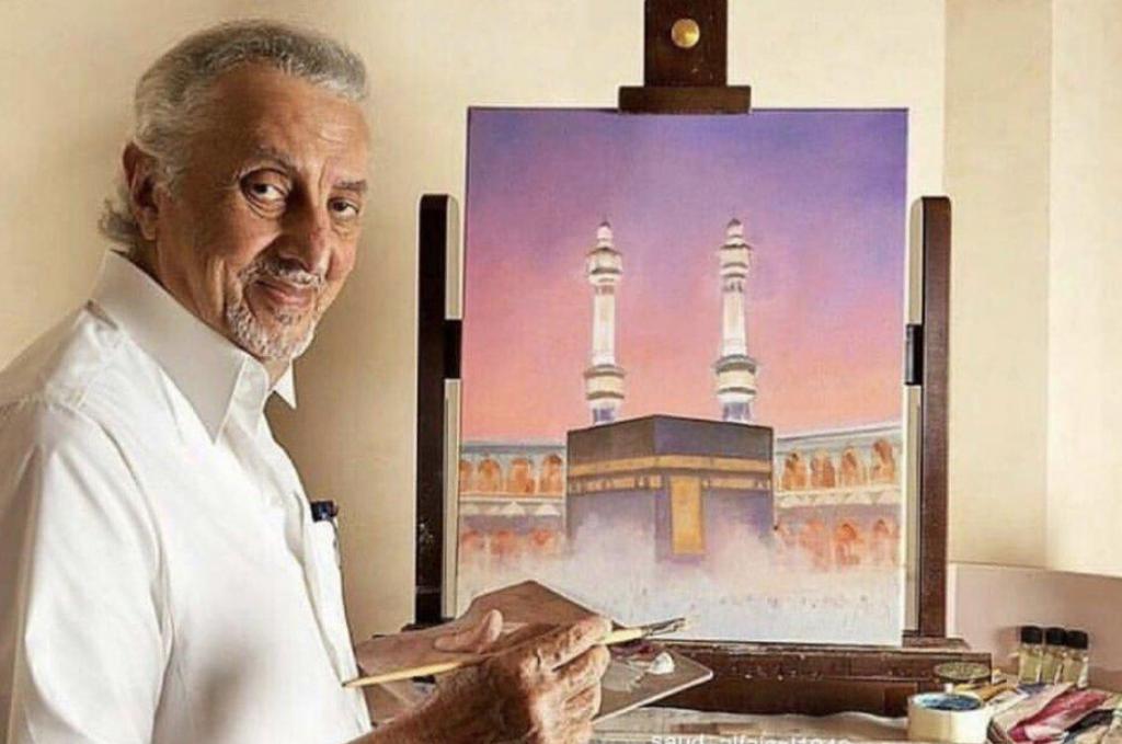 """شاهد .. صورة جديدة لـ """"خالد الفيصل"""" تثير إعجاب نشطاء التواصل.. """"الكل يرسم معشوقته"""""""