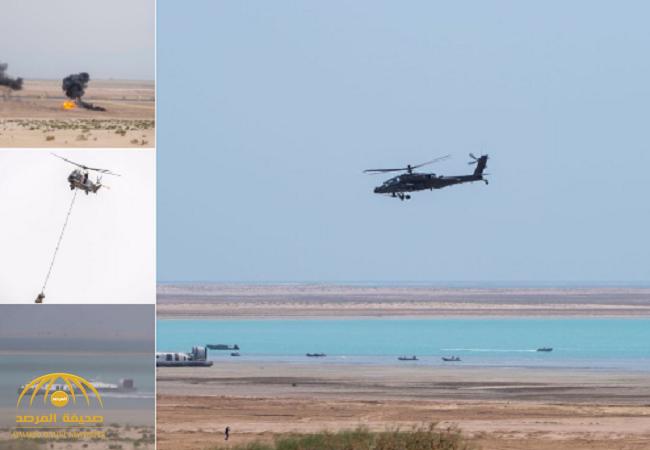شاهد بالصور: جانباً من اختتام مناورات تمرين درع الخليج المشترك1