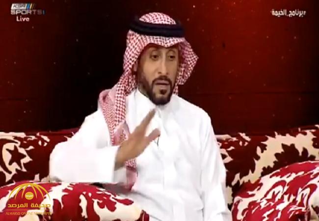 """بالفيديو:سامي الجابر يكشف قصة منعه من دخول نادي الهلال.. ويوضح: هذه حقيقة خلافي مع """"الدعيع"""""""