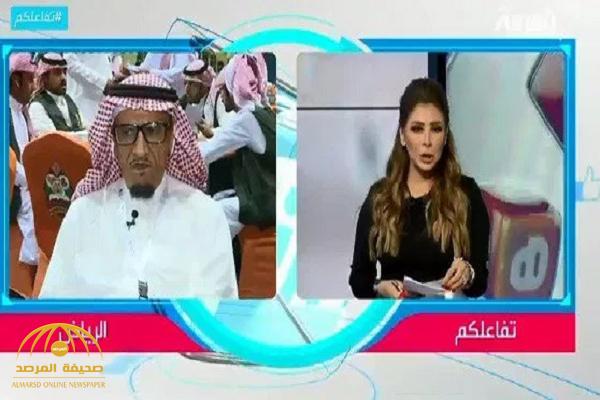 """الثمانيني """"أبو صالح"""" يضع مذيعة العربية في موقف محرج .. شاهد .. ماذا فعل حينما سمع الأذان وهو على الهواء!"""
