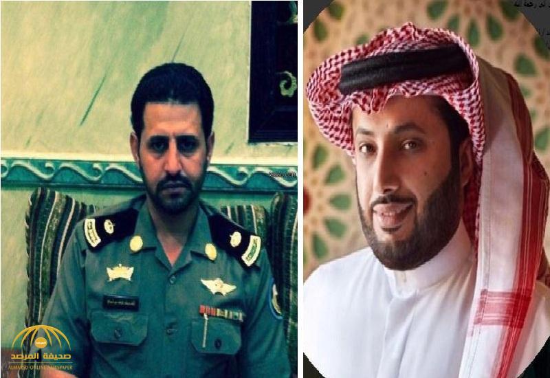 """تركي آل الشيخ"""" ينعي الرائد """"نايف الشريف"""" بتغريدة .. وتفاعل بين النشطاء"""