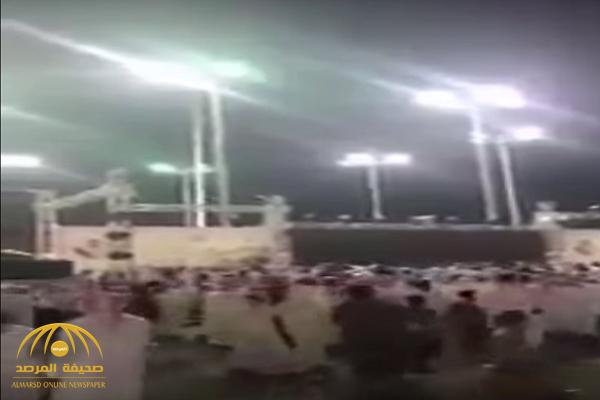 شاهد.. مضاربة وفوضى في مهرجان شرورة السياحي بنجران!