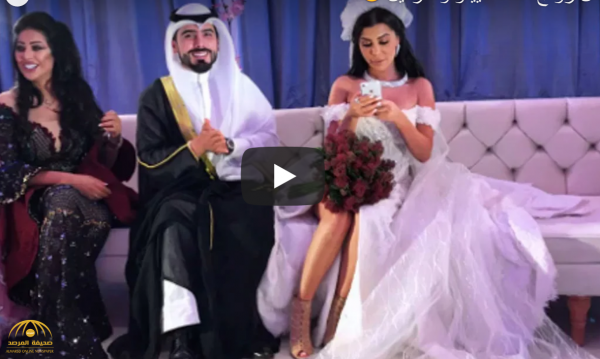 شاهد بالفيديو :زفاف إعلامي كويتي من شبيهة كيم كارداشيان يشعل مواقع التواصل!