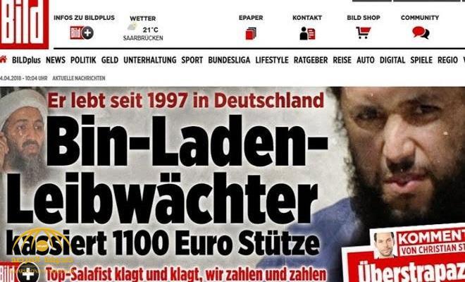 """الحارس الشخصي لـ """"أسامة بن لادن"""" يعيش في ألمانيا .. وهذا الراتب الذي يتقاضاه شهرياً"""