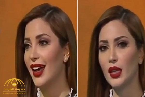 """بالفيديو .. نسرين طافش : """" أنا جامعة دول عربية وفخورة بعرق ماما المغربي وعرق بابا السعودي"""""""