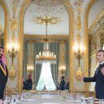 بالصور : بدء اجتماع مجلس الشراكة الاستراتيجية السعودية الفرنسية في قصر الإليزيه