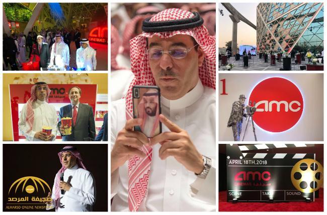 """بالصور و الفيديو : وزير الإعلام """"عواد العواد"""" يدشّن أول صالة سينما بالرياض  منذ 35 عاما"""