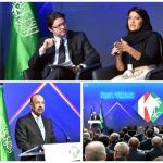 بالصور : وزير الخارجية الفرنسي يفتتح فعاليات منتدى الرؤساء التنفيذيين باريس